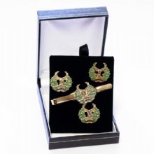 Gordon Highlanders - Cufflinks, Tie Slide or Boxed Set from